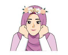 alhamdulillah image for girl Hijab Cartoon, Hijabi Girl, Arabic Art, Cartoon Characters, Fictional Characters, Mode Hijab, Girls Image, Hijab Fashion, Muslim