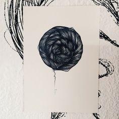 """Lámina Hole.Colección """"Orgánica"""".Edición limitada y numerada firmada por Marina Guiu.Impresión sobre papel digital de conquistador de 300gr.Medida A4 (21x 29,7 cm).Para más información:espacio-store@hotmail.com"""