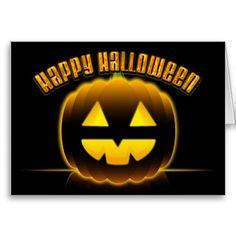 Happy Halloween 3 Card