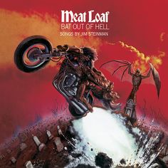 Meat Loaf Bat Out Of Hell Gram Audiophile Vinyl Ltd. Edtion Gatefold Cover) Album Cover, Meat Loaf Bat Out Of Hell Gram Audiophile Vinyl Ltd. Edtion Gatefold Cover) CD Cover, Meat Loaf Bat Out Of Hell Gram Audiophile Vinyl Ltd. Iconic Album Covers, Greatest Album Covers, Rock Album Covers, Classic Album Covers, Music Album Covers, Lps, Hard Rock, Rock And Roll, Classic Rock Albums