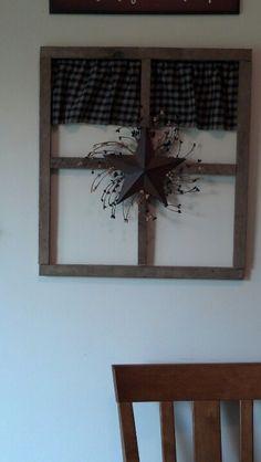 Tobacco stick window