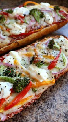 Pizza Recipes, Vegan Recipes, Cooking Recipes, Bread Recipes, French Vegetarian Recipes, Ramen Recipes, Vegan Ideas, Chickpea Recipes, Lentil Recipes