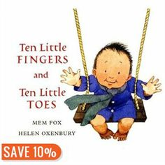 Fishpond Australia, Ten Little Fingers and Ten Little Toes [Board book] by Helen Oxenbury Mem Fox. Buy Books online: Ten Little Fingers and Ten Little Toes [Board book], ISBN Helen Oxenbury Mem Fox Petite Section, Grande Section, Chubby Babies, Little Babies, Fur Babies, Toddler Books, Childrens Books, Great Books, My Books