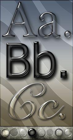 Elegant Glass Text Effects And Styles by Rrugaci.deviantart.com on @DeviantArt