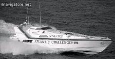 BARCA DA CORSA CHE HA #STABILITO IL #RECORD #NASTRO #AZZURRO NEL 1988 DA #SOUTHAMPTON  #PORTÒ A 5 KM DA ... #annunci #nautica #barche #ilnavigatore