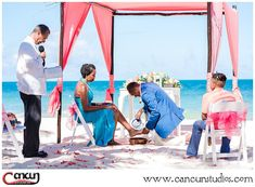 What kind of traditions will you include in your Wedding ceremony or Vow renewal? During this beach ceremony we captured a unique foot washing ceremony signifying devotion and humbleness to your partner. Beach Ceremony, Wedding Ceremony, Cancun Wedding, Vows, Humbleness, Wedding Photography, Studio, Travel, Unique