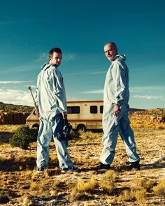 Breaking bad is, in my opinion, the most elaborate TV series in a spirit of reflection with highly skilled actors.