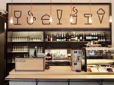 Aschan Deli interior design and branding by BOND, Helsinki store design ideas design and decoration design bedrooms Coffee Shop Design, Cafe Design, Store Design, Design Design, Design Ideas, House Design, Logo Design, Design Inspiration, Restaurant Branding