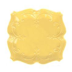 Yellow Sweet Olive Dinner Plate   Kirklands