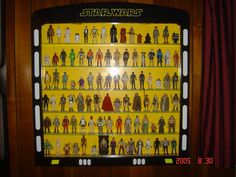 I would have killed for one of these back in the day. Action Figure Display Case, Star Wars Action Figures, Stars, Display Cabinets, Wall Shelves, Storage Ideas, Man Cave, Nerd, Comic