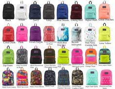 Jansport SuperBreak OVEREXPOSED Black Navy Grey Aqua Purple Blue School Backpack #Jansport #SupreBreak