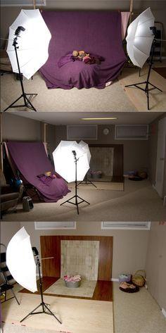 Baby Photography Setup