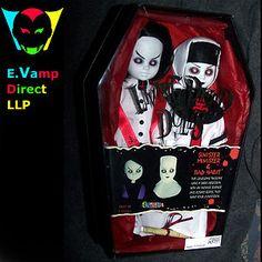 living dead dolls | LIVING DEAD DOLLS - SINISTER MINISTER & BAD HABIT - EXCLUSIVE - RARE ...