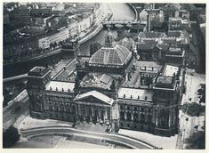 Aerial view of the Reichstag, Berlin. German Architecture, Historical Architecture, Beautiful Architecture, Beautiful Buildings, Vintage Architecture, Classical Architecture, Ancient Architecture, German Houses, Good Old Times
