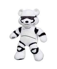 50bcf090816 Star Wars Stormtrooper Bear plush toy from Build-A-Bear Workshop. Ty Beanie