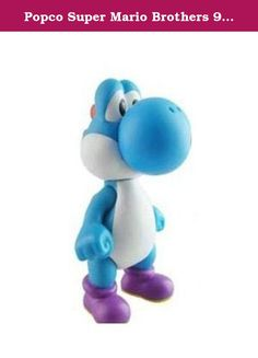 Popco Super Mario Brothers 9 Inch Series 2 Classic Super Size Vinyl Figure Collection Yoshi Blue. This great figure stands 9 inches and is in the likeness of Yoshi!Product Features Great for the kids to play with when not playing the game! Super Mario Action Figure Collectible Officially Licensed Wave 2 9 Vinyl Moveable Arms and Head.