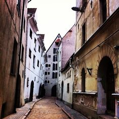 Old Town. Riga