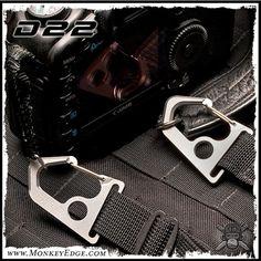 D22 - Uncus -- Titanium Carabiner Attachment