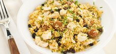 Chicken and Merguez Couscous with Cilantro Recipes | Ricardo