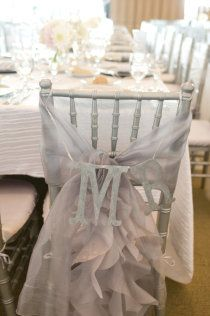 Great for your bride and Groom Chairs - totally DIY #whimsical #wedding #decor