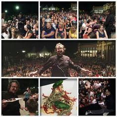 Ciaooooooo! Grazie #Modena!  Ieri sera eravate tantissimi! ;-))) #illussodellasemplicità #livecooking #Cucina #PiacereModena #Italia