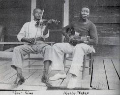 Son Sims & Muddy Waters