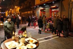 De pintxos en Estafeta, Pamplona (Navarra)