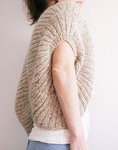 Baggy bolero - free knitting pattern - Pickles