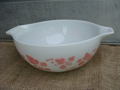 Vintage Pyrex Pink Cinderella Mixing Bowl / by browneyeddaisy, $20.00