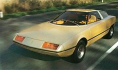 1972 Citroen GS Camargue by Bertone