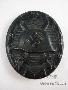 Germany - Wound Badge in black (World War 2)
