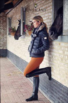 "www.pegasebuzz.com   Equestrian Fashion : Kingsland dressage winter 2013 …...at Comtesse J. -..... ""Les Infortunes de la Vertu"""