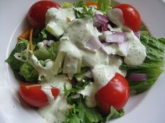 Jalepeno Ranch Dressing! So easy to make and so good. Use it on a salad, on burgers, or as a dip