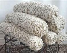 Wool Weaving Warp 3 6 Lbs 5 Strand Jumbo Large Bulk Spool Cone Skeins Rug Yarn