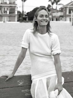 Channel Surf Publication: Vogue UK May 2017 Model: Amber Valletta Photographer: Lachlan Bailey Fashion Editor: Clare Richardson Hair: Didier Malige Make Up: Petros Petrohilos PART I