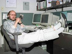 Bjarne Stroustrup the creator of C circa 1979