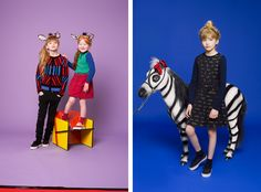 New KENZO kids campaign shot by Philippe Jarrigeon