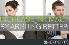 increase intimacy by arguing better