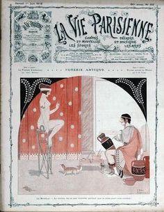 Joseph Kuhn-Régnier (1873 – 1940). La Vie Parisienne, 1 Juin 1912. [Pinned 16-vii-2015]