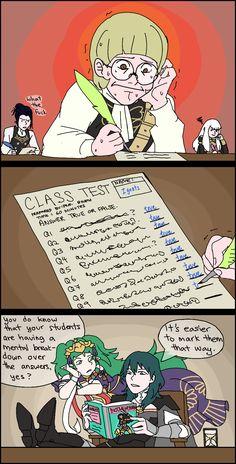 Standardized tests suck anyway - Best anime list Fire Emblem Fates, Fire Emblem Awakening, Best Anime List, Fire Emblem Characters, Blue Lion, Anime Comics, Marvel Comics, Dragon Age, Power Rangers