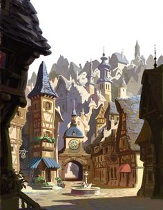 Tangled (2010) - Visual Development