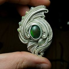 Custom Wire Wrap Pendant, Small Raw Crystal Gemstone Pendant, Heady Wire Wrap Custom Made Just for You