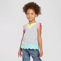 Toddler Girls' Tank Top Genuine Kids™- White