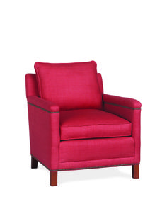 Use a Lee chair like this one with a pop of color to create a great bohemian look #madeinamerica