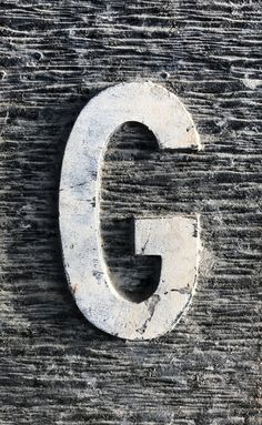 G No. 43 #G, #alphabet, #letter, #photography, #typography