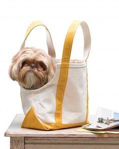 """""""doggie bag"""" pet carrier....AAAAaaaahhhHHHHH !"""