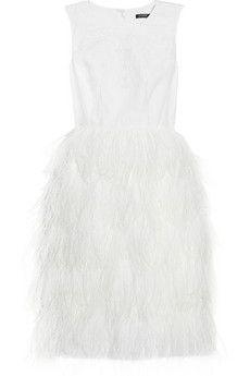 fun linen white dress by j. crew