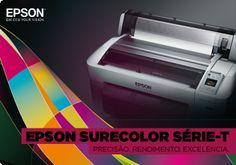 : As novas impressoras SureColor Série-T são ideais para imprimir seu próximo grande projeto. Confira: