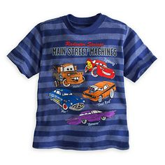 Cars Striped Tee for Boys | Tees, Tops & Shirts | Disney Store