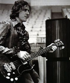 Jack Bruce - the greatest bassist of all time and one of the most powerful voices in rock music history. just love him.
